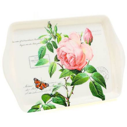 Redoute Rose Small Tray